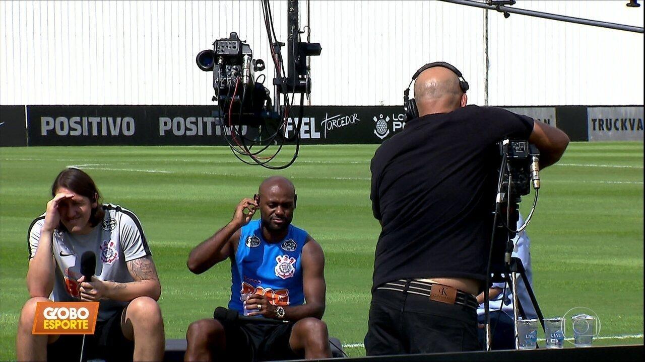 Day after: jogadores do Corinthians falam do Paulistão, mas já olham para a Copa do Brasil