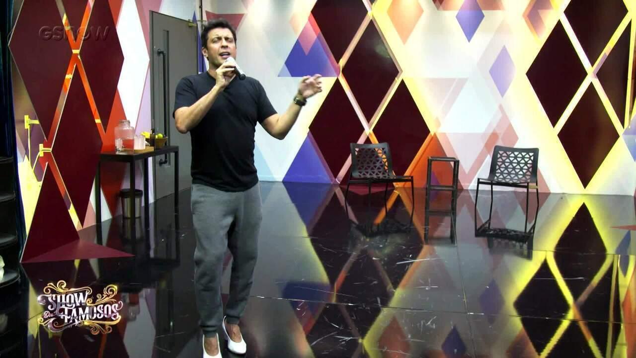 Veja a preparação de Ceará para homenagear Simone no 'Show dos Famosos'