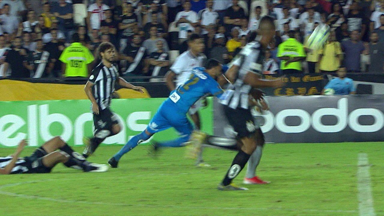Melhores momentos: Vasco 2 x 1 Santos pela quarta fase da Copa do Brasil