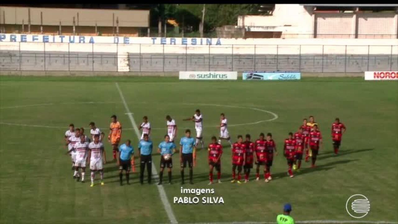 River-PI vence o clássico Rivengo pelo estadual Sub 19