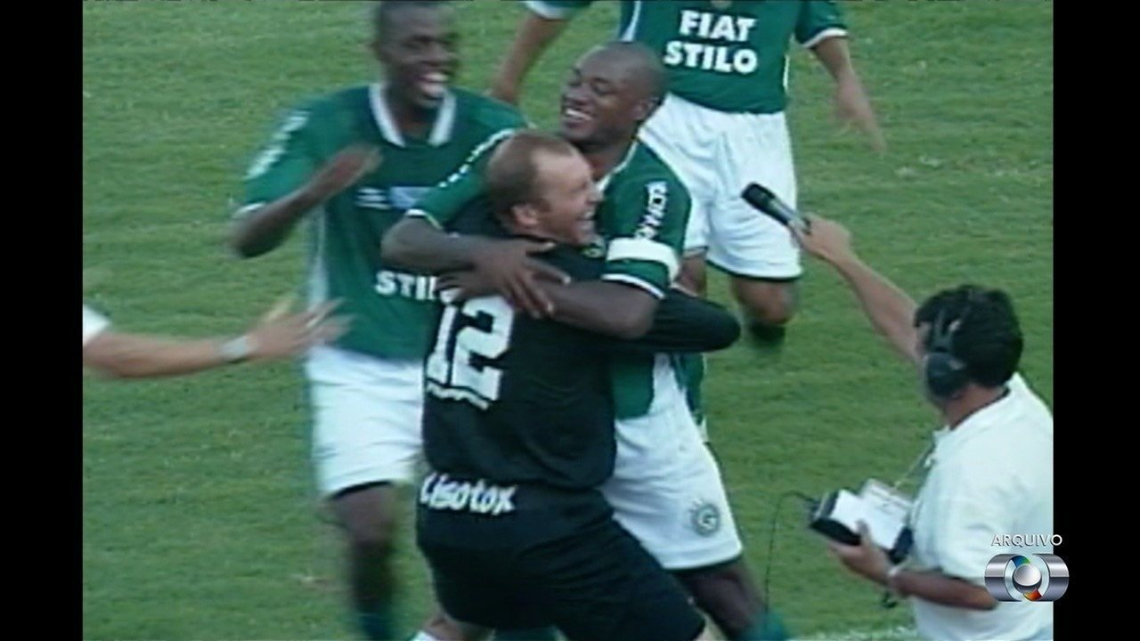 Relembre a campanha histórica do Goiás em 2003