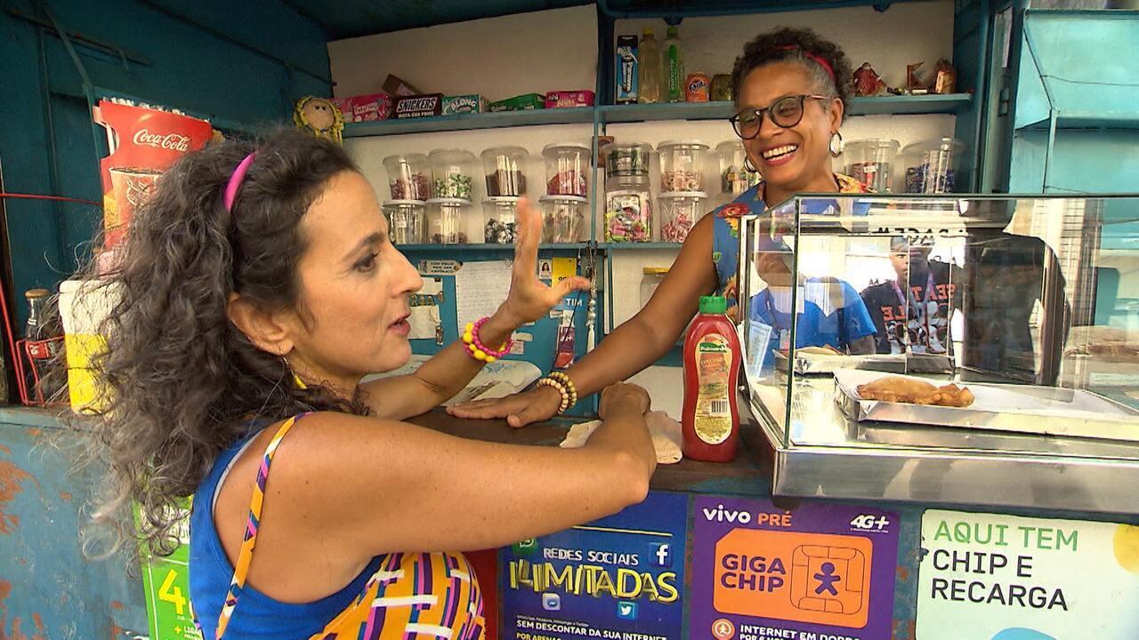 No 'Mapas', Maria Menezes dá um rolé pelo largo Dois de Julho