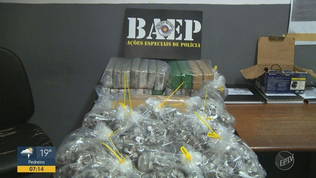 Baep prende 'olheiro' do tráfico em Campinas