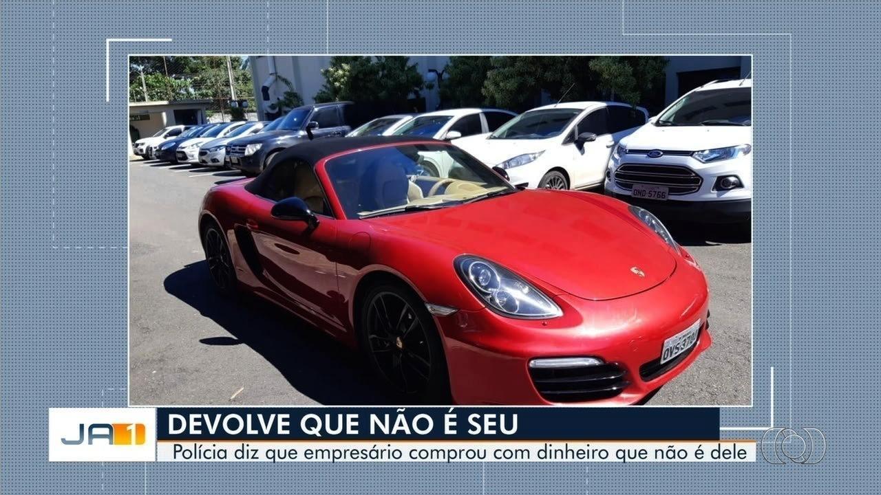 Polícia investiga empresário que comprou Porsche com R$ 18 milhões que recebeu por engano