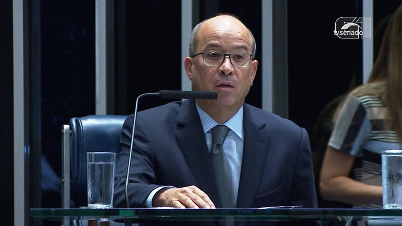 José Roberto Marinho discursou em sessão no Senado em homenagem ao 54 anos da TV Globo