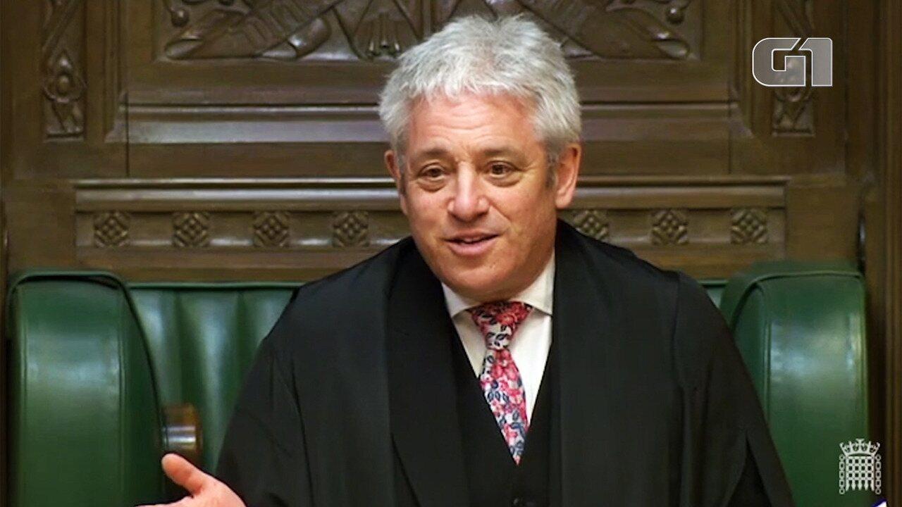 Veja John Bercow em ação na Câmara dos Comuns
