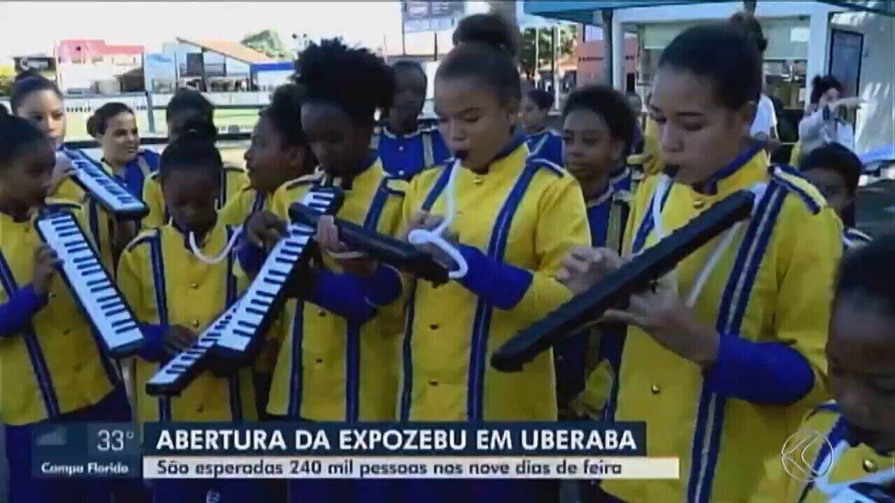 85ª Expozebu é aberta oficialmente em Uberaba