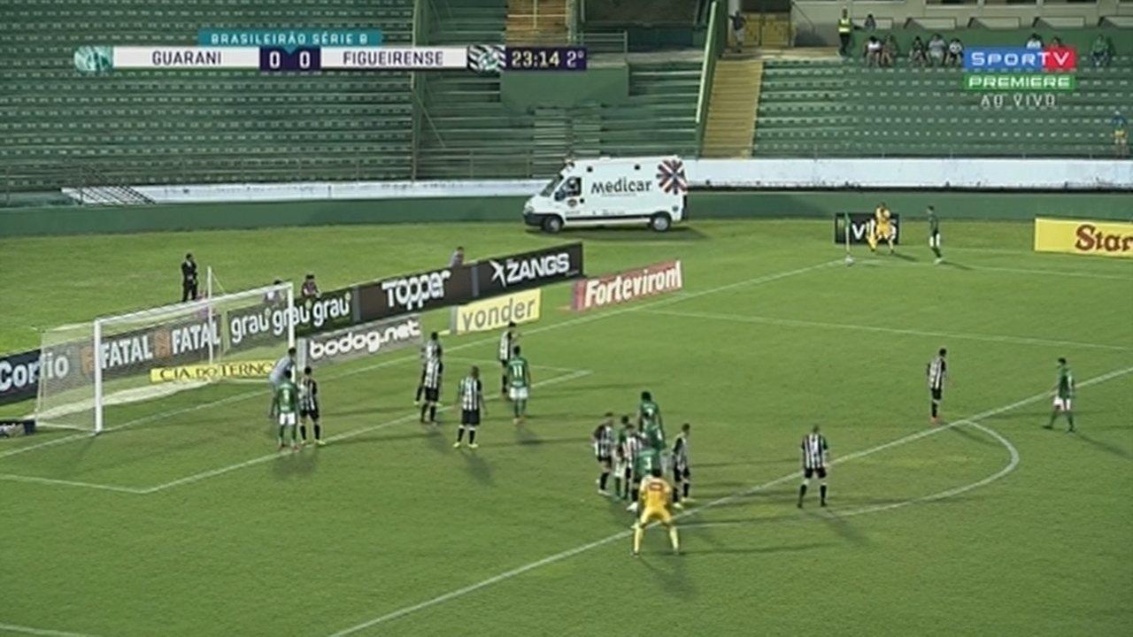 Os melhores momentos de Guarani 0 x 0 Figueirense