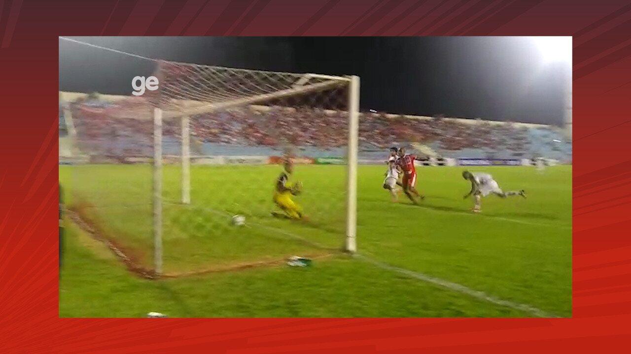 Veja os gols de Imperatriz 2x0 Globo-RN