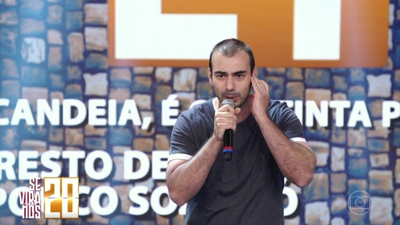 Daniel Alberti, participante do 'Se Vira nos 30'