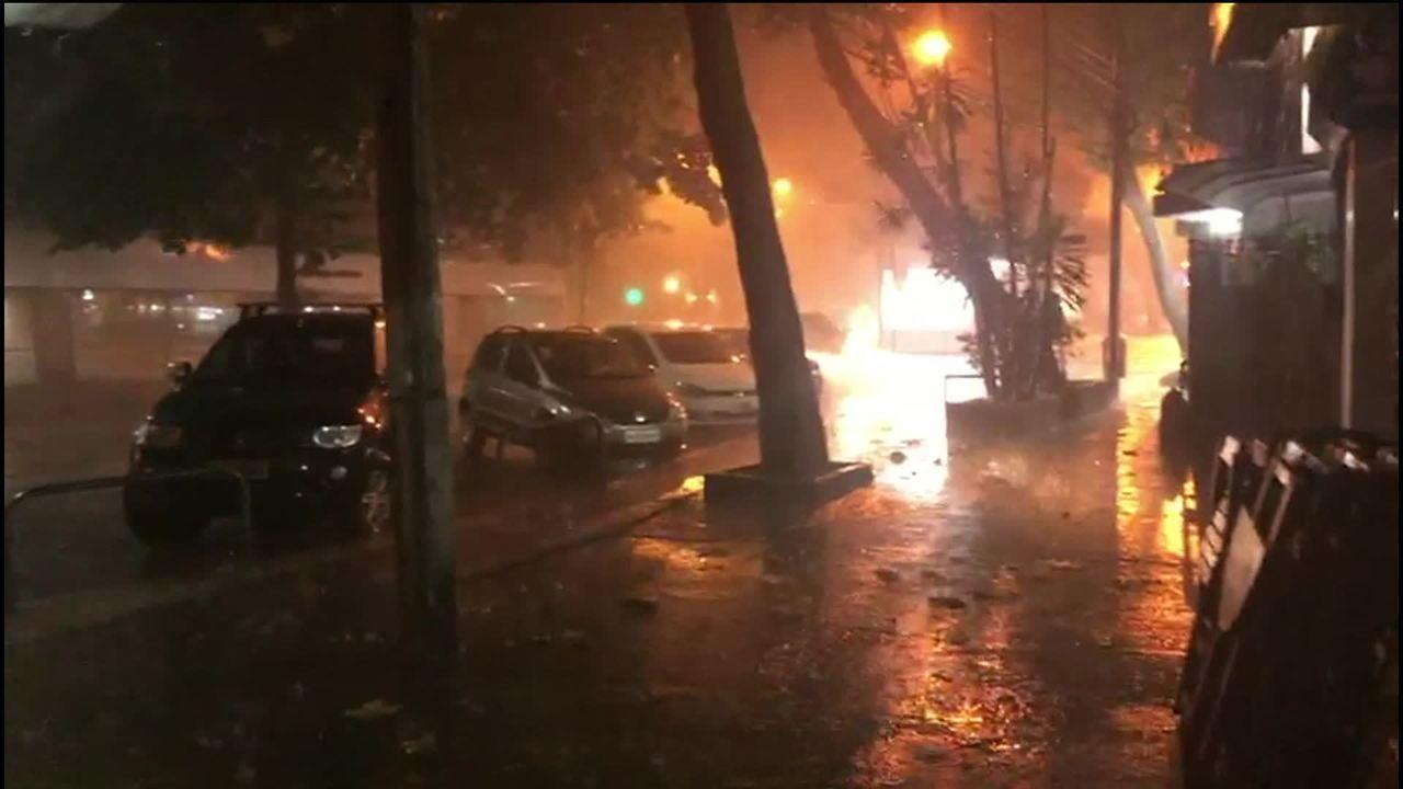 35b0212ea Rio registra ventos de mais de 100 km/h neste domingo; cidade entra ...