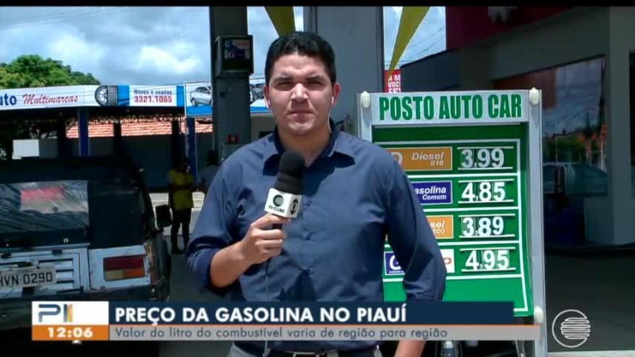 Preço da gasolina sobe mais uma vez e tem piauiense abastecendo no Maranhão