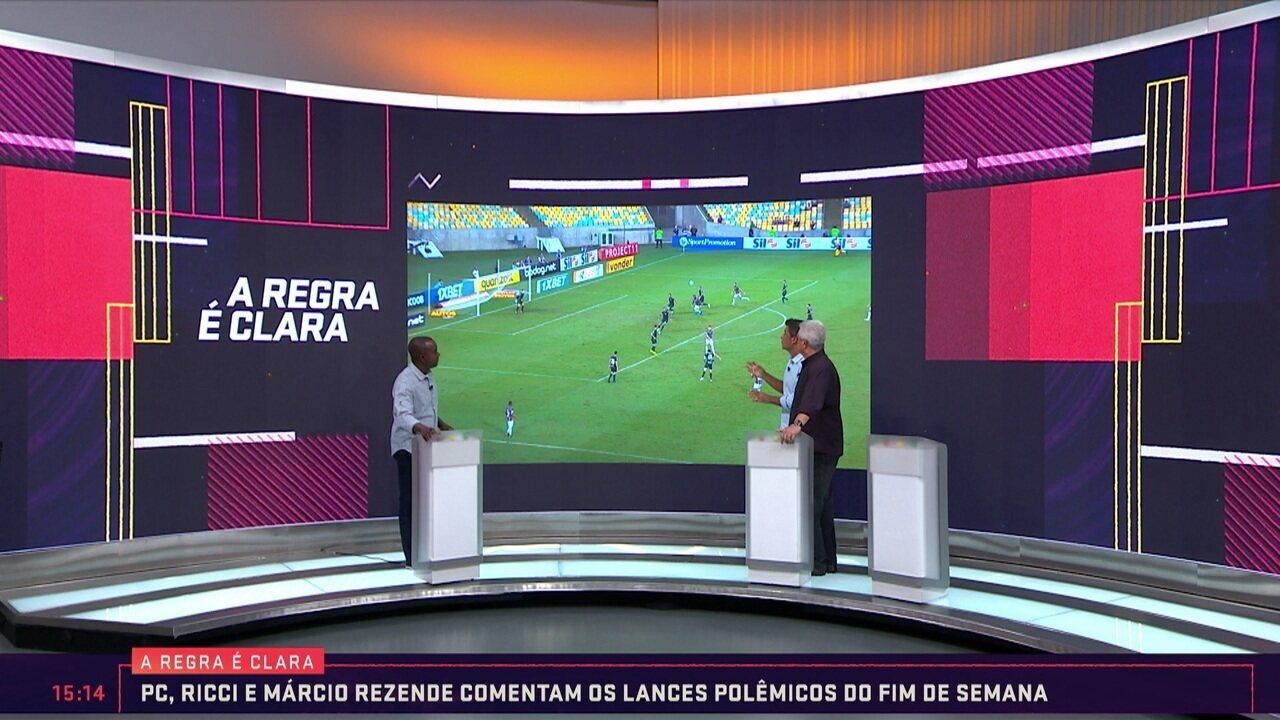 Sandro Meira Ricci analisa arbitragem do jogo entre Bahia e Corinthians