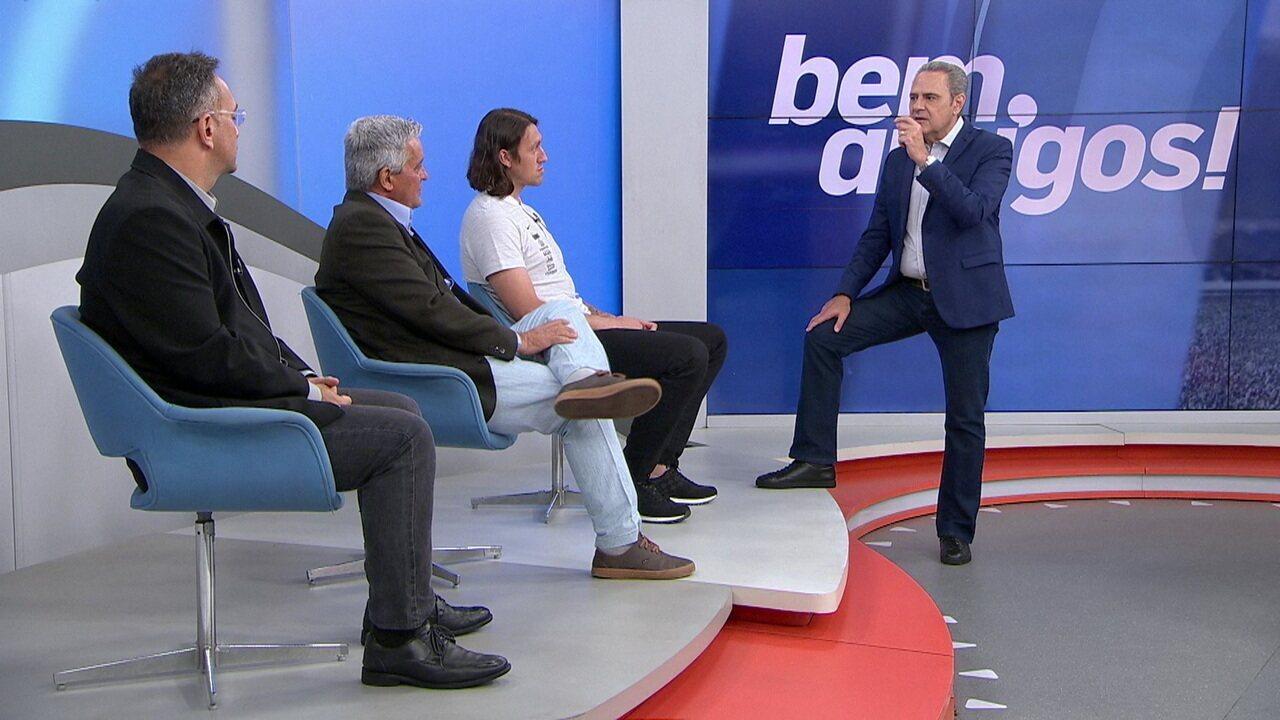 Comentaristas debatem sobre o jogo do Corinthians contra o Bahia