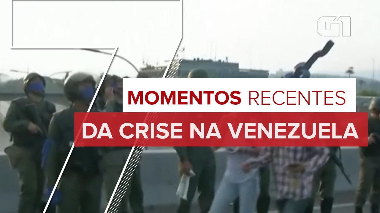 Relembre 7 momentos recentes da crise na Venezuela