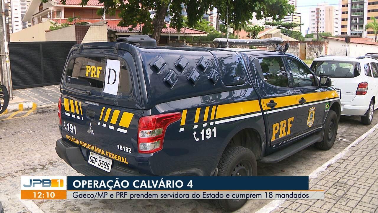 Operação Calvário 4: Servidora do Estado é presa