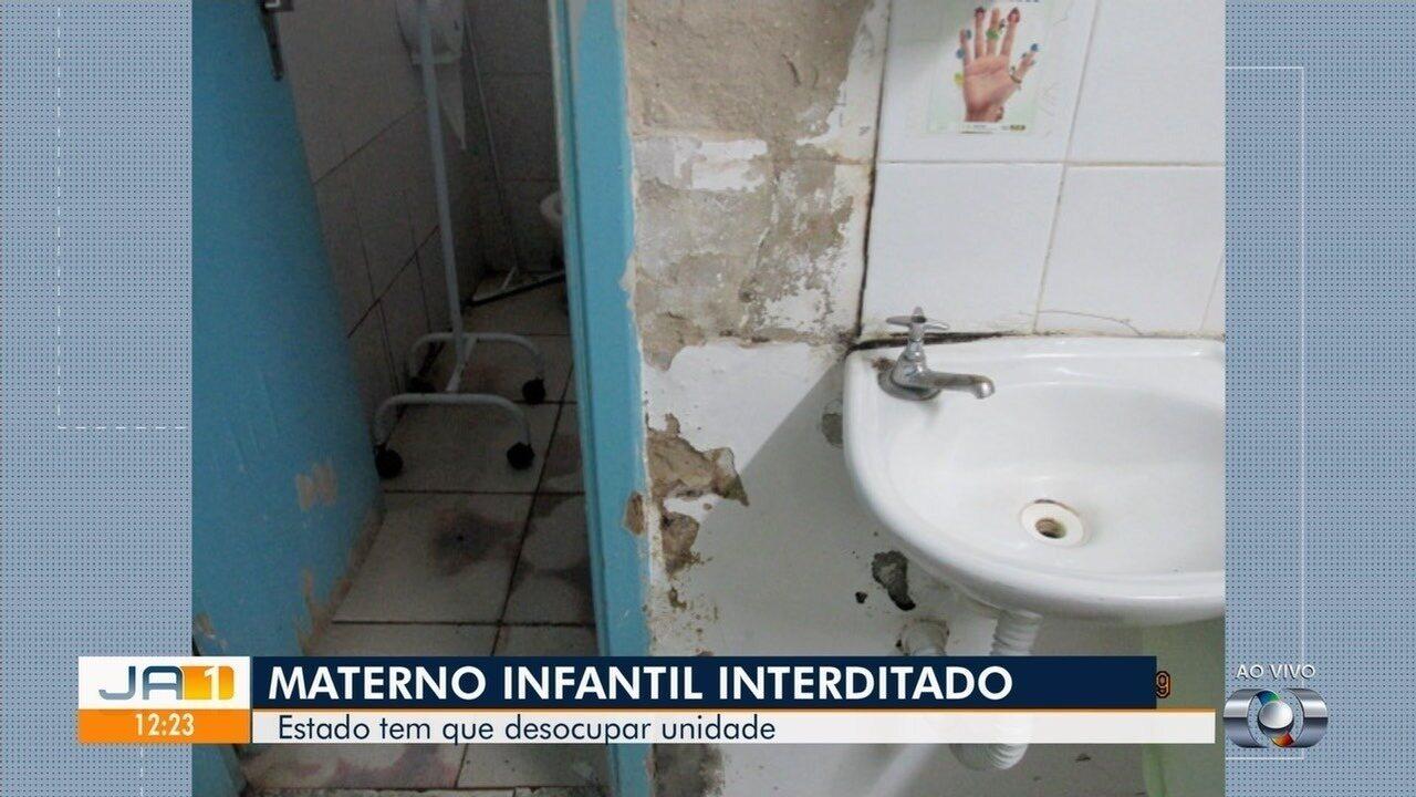 Veja detalhes sobre os problemas estruturais do Hospital Materno Infantil, em Goiânia