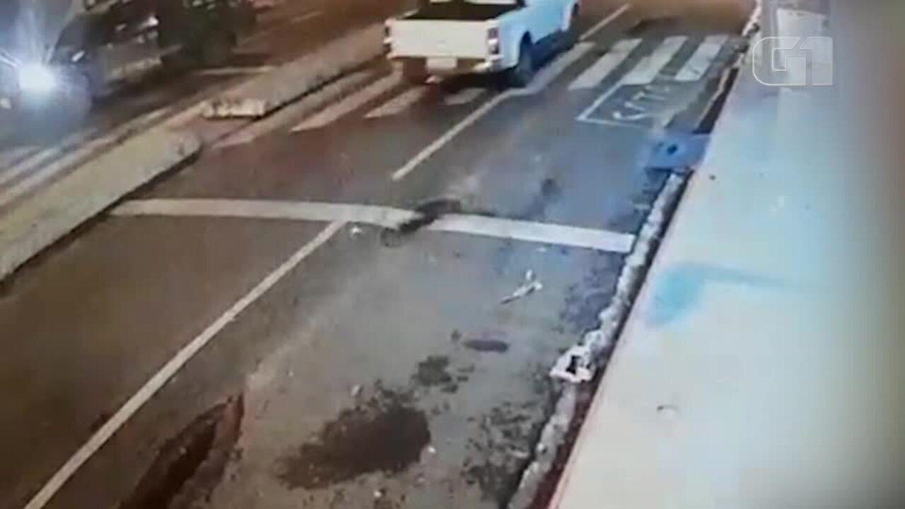 Vídeo mostra momento da ação dos bandidos em assalto a banco em Campo Maior