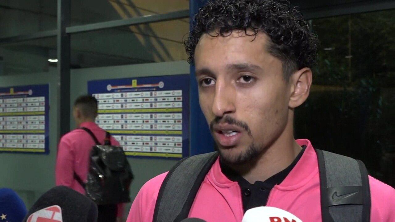 """Marquinhos diz que PSG não está conseguindo jogar como equipe: """"Erros acontecem, mas precisamos nos ajudar"""""""