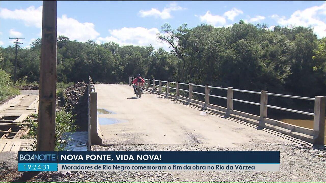 Ponte do Rio da Várzea é entregue após atrasos na obra e reclamações de moradores