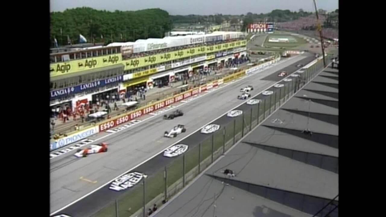 GP de San Marino de 1994 teve mais acidentes e vitória de Schumacher