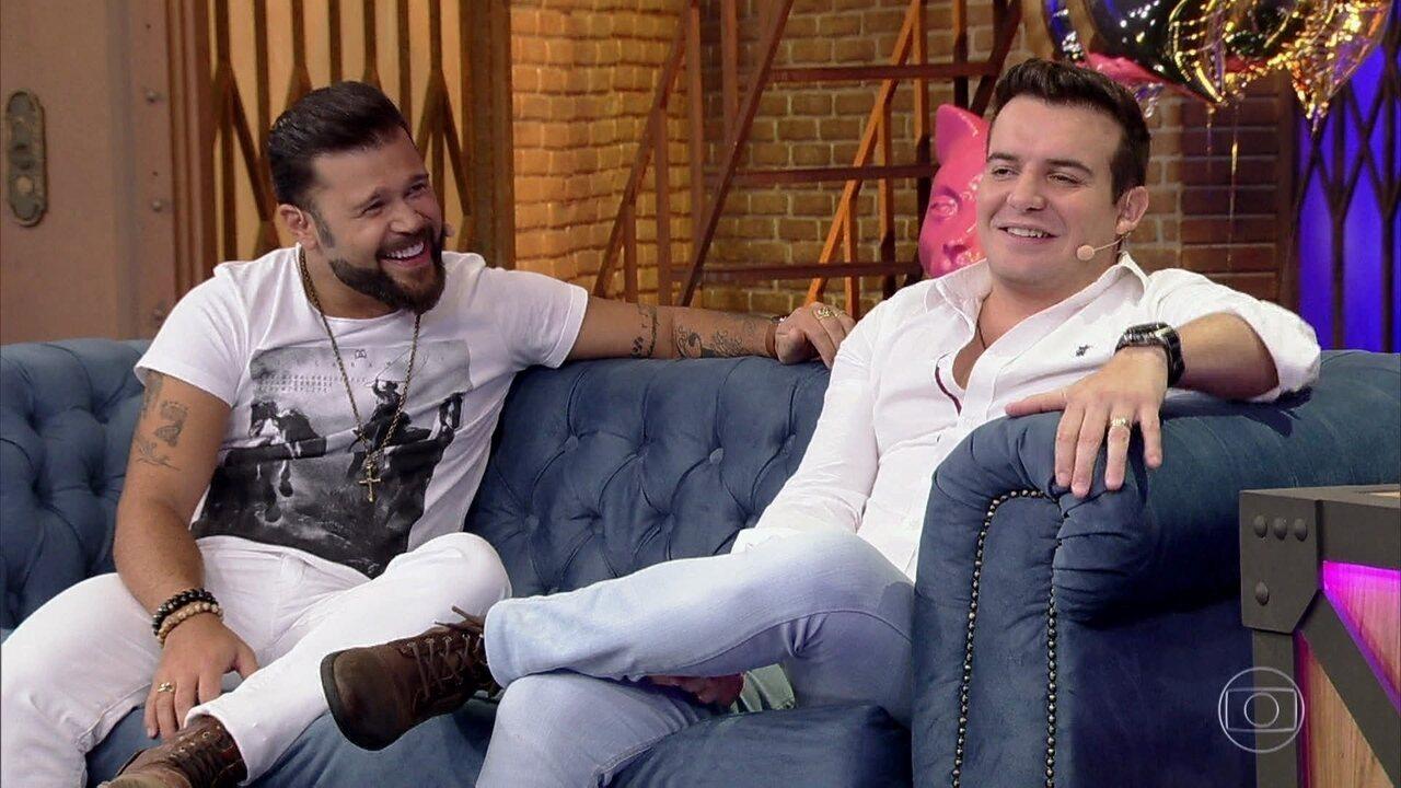 Marcos & Belutti falam sobre escolha do nome artístico