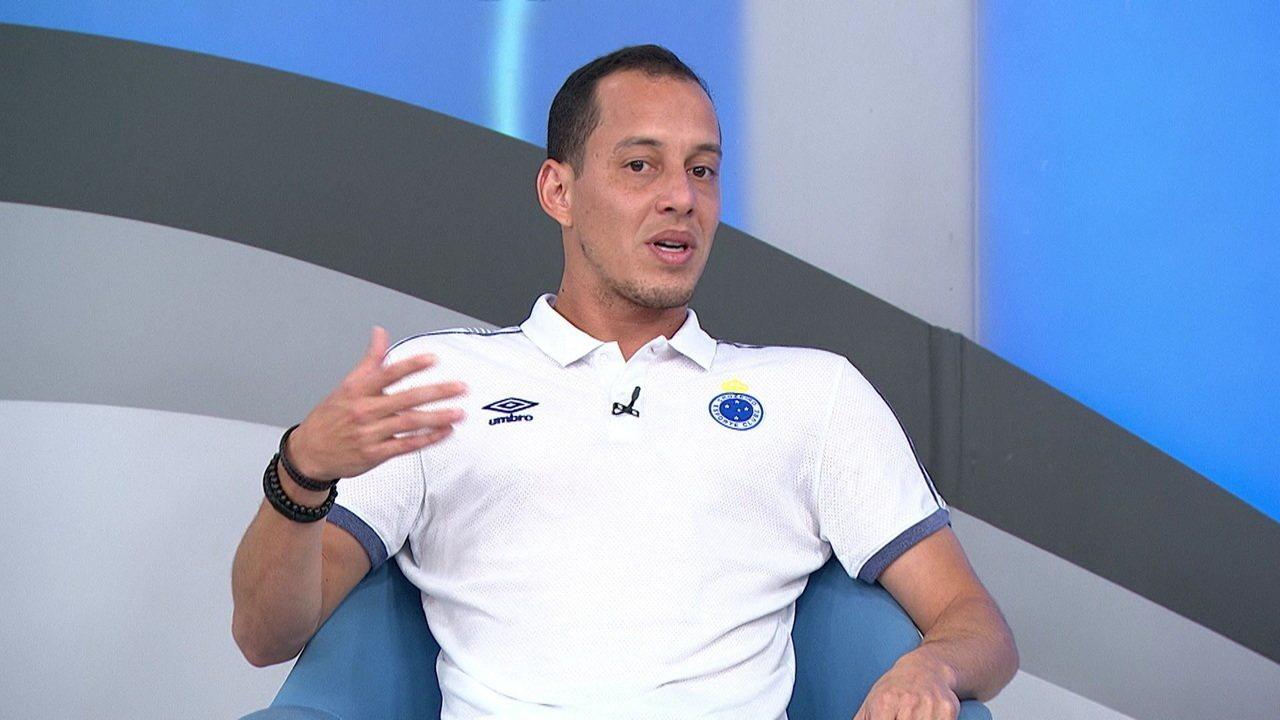 Rodriguinho se diz surpreso com adaptação rápida no Cruzeiro