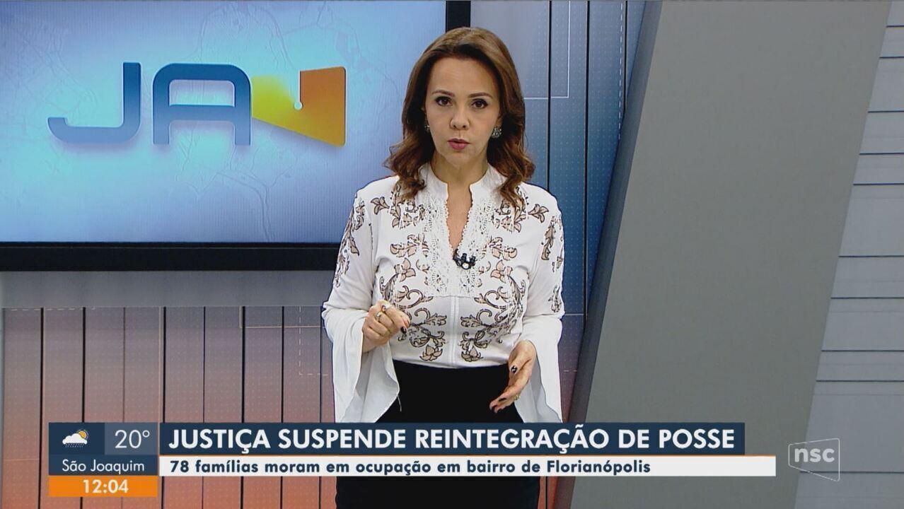 Justiça suspende reintegração de posse contra 78 famílias em Florianópolis