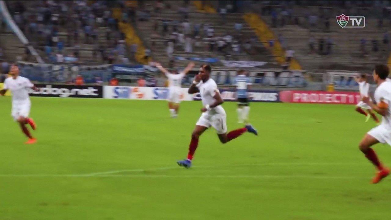 Vídeo sugere racismo de torcedores do Grêmio contra Yony González, do Fluminense