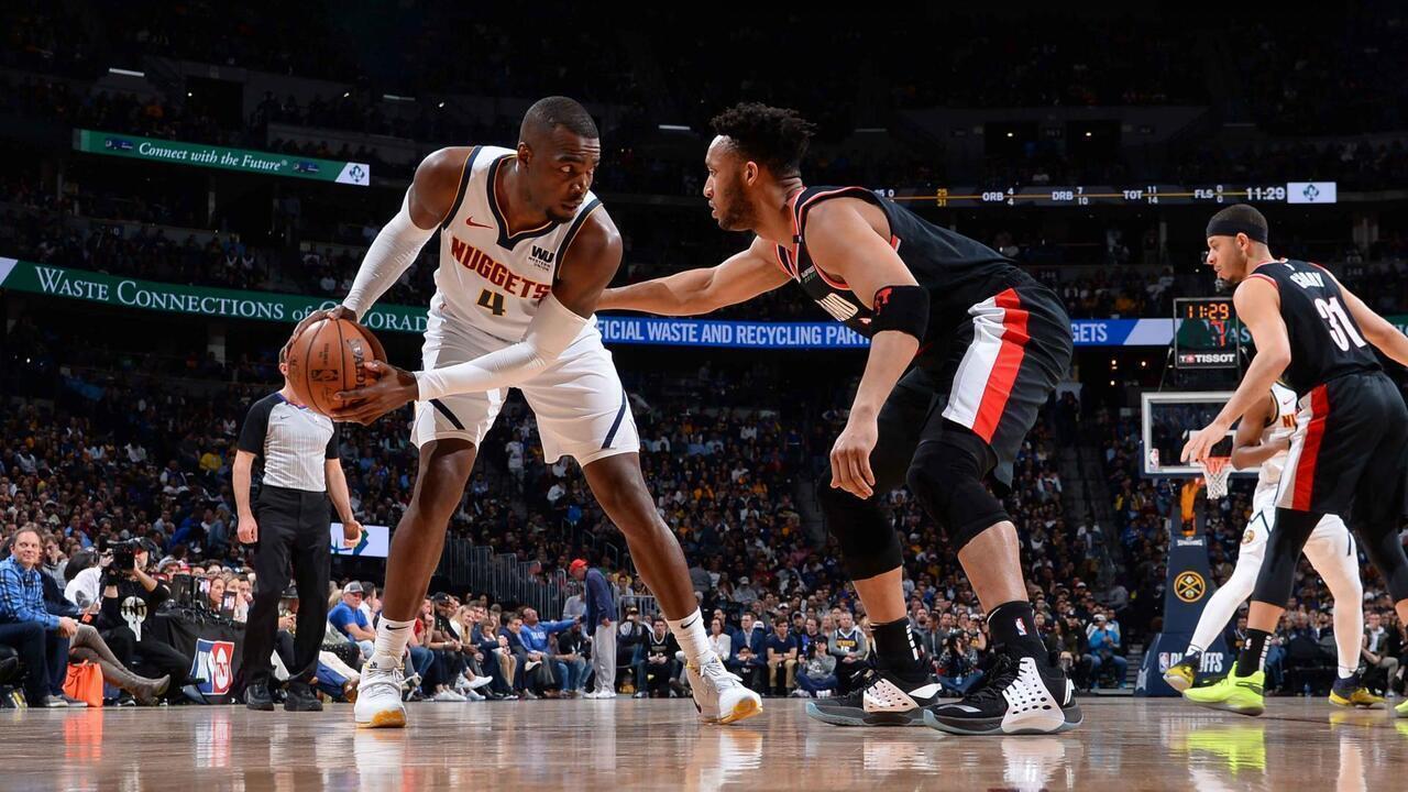 Melhores momentos: Denver Nuggets 124 x 98 Portland Trail Blazers pela NBA