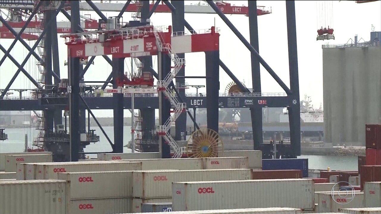 China diz que está pronta para guerra comercial com EUA