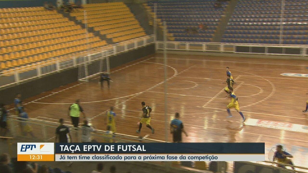 Taça EPTV de Futsal: três times já estão classificados