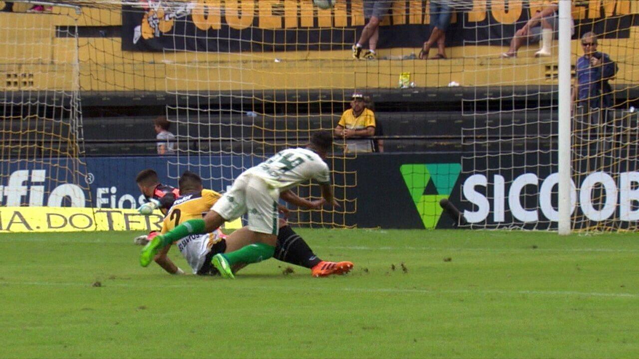 Melhores momentos de Criciúma 0 x 0 América-MG pela Série B 2019