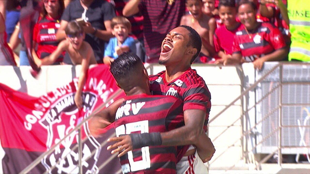 Melhores momentos de Flamengo 2 x 1 Chapecoense pela 4ª rodada do Campeonato Brasileiro