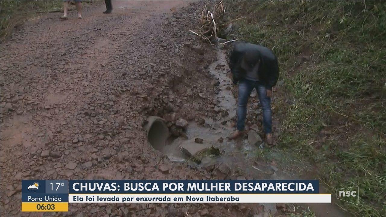 Bombeiros fazem buscas por mulher que desapareceu em Nova Itaberaba