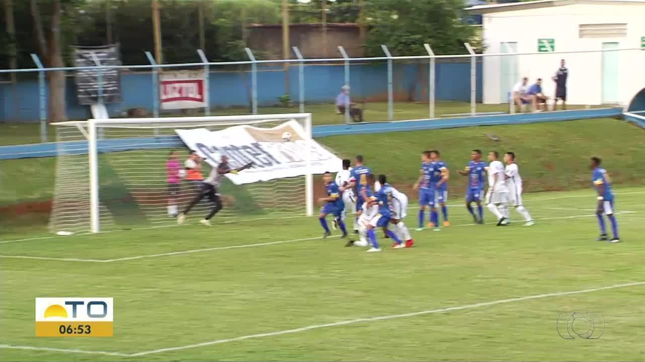 Aparecidense vence o Interporto por 4 a 0 pela Série D