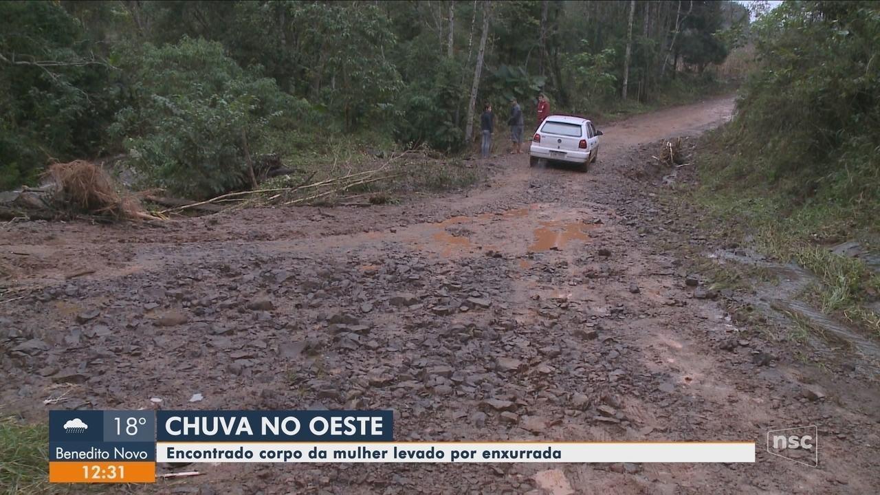 Bombeiros encontram corpo de mulher que desapareceu em Nova Itaberaba