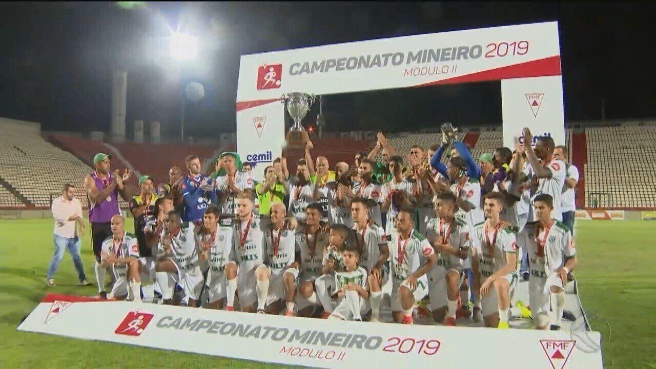 Uberlândia Esporte perde para o Coimbra e fica com o vice do Módulo 2 do Mineiro