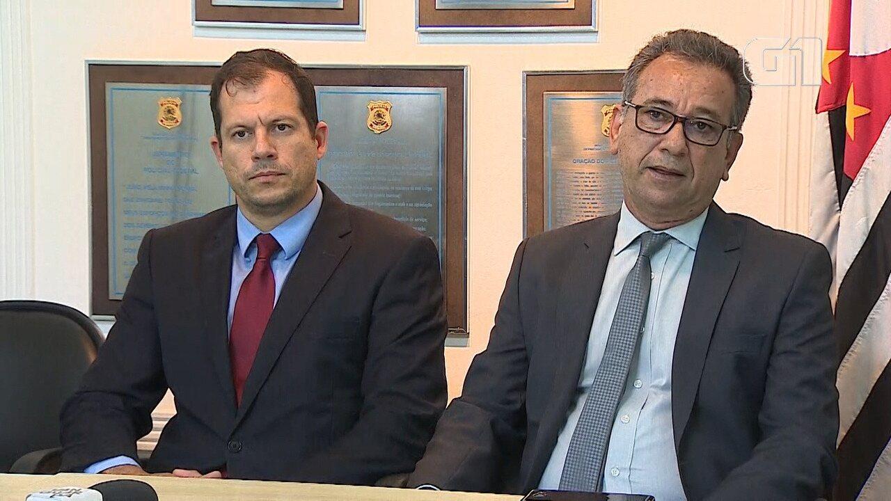 Entrevista do delegado Carlos Roberto de Almeida sobre operação em Ilhabela