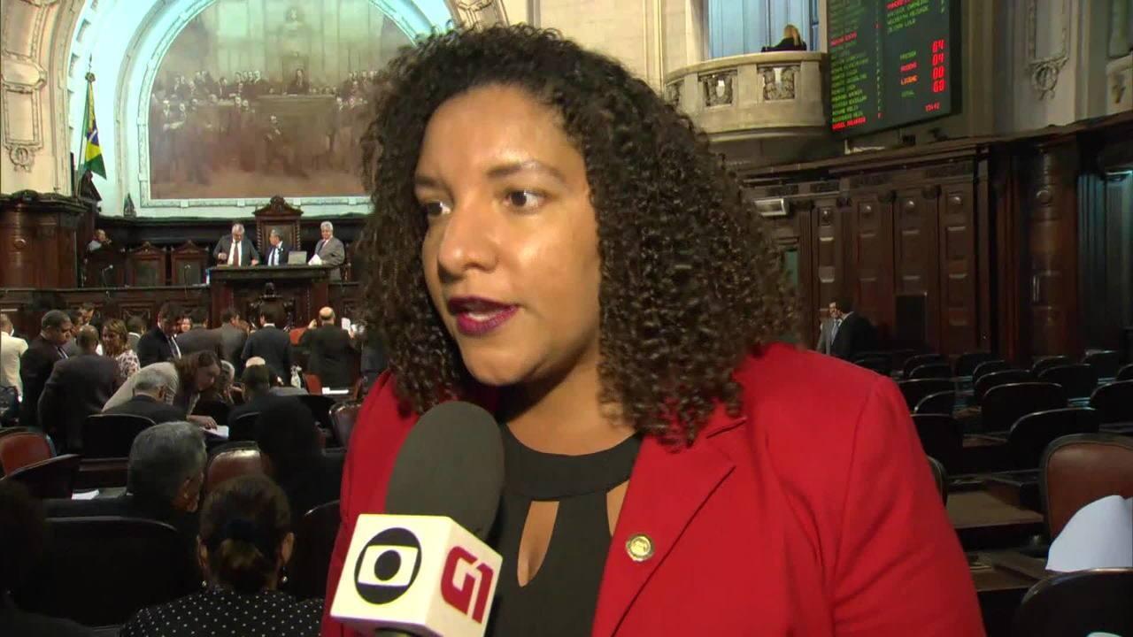 Processo contra deputada do PSOL vai para Conselho de Ética na Alerj