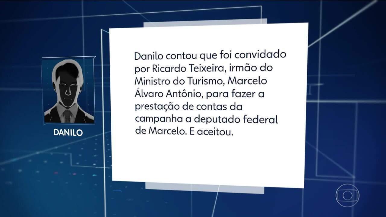 Contador de candidatas diz que trabalhou a pedido de irmão do ministro do Turismo