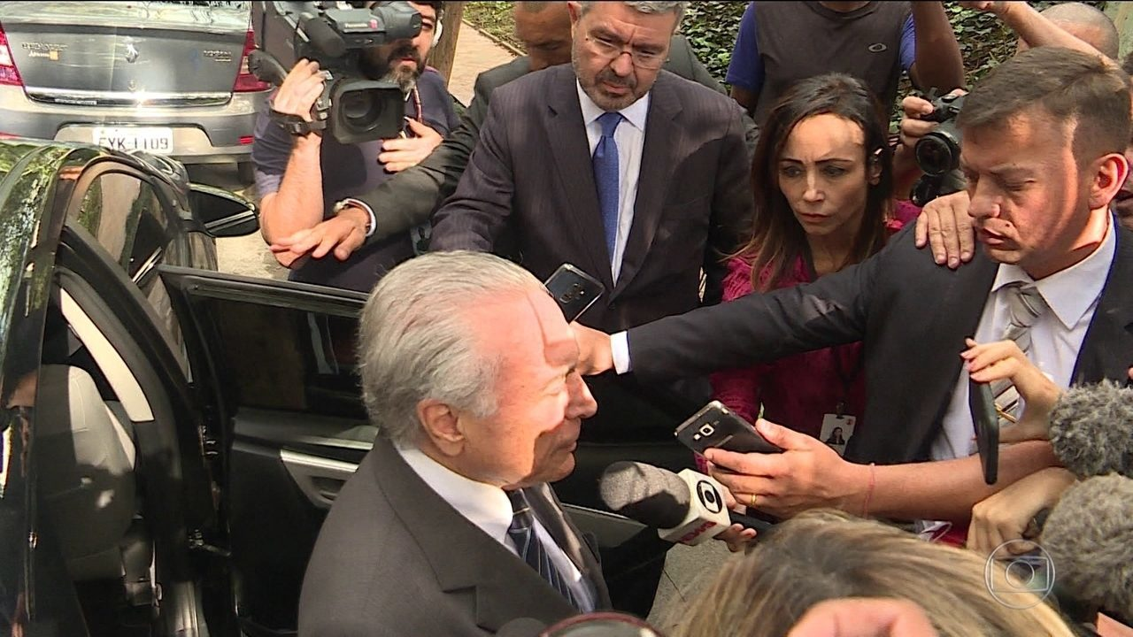 Após seis dias preso, ex-presidente Michel Temer está em casa em SP