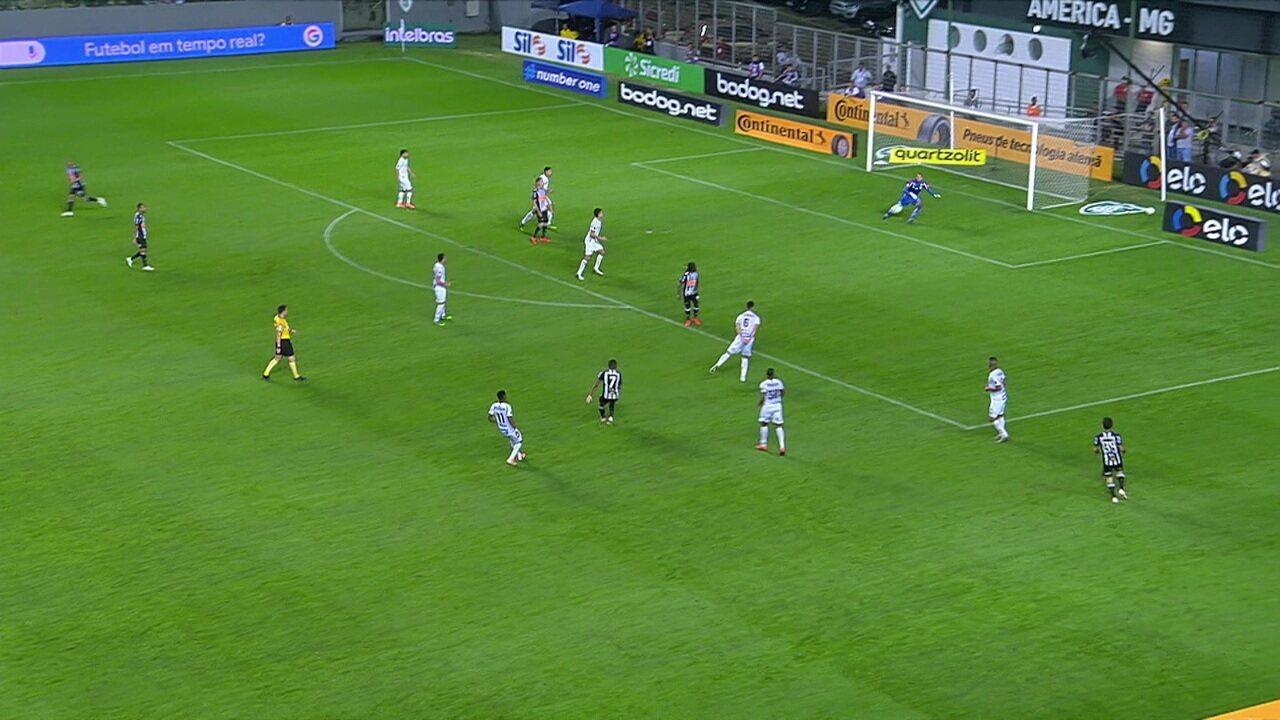 Melhores momentos de Atlético-MG 0 x 0 Santos pelas oitavas da Copa do Brasil