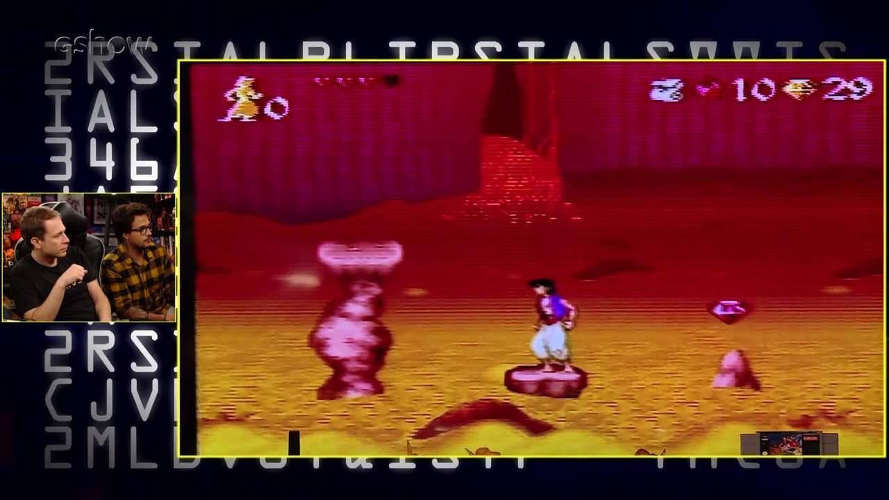 Gameplay estendido de 'Aladdin' com Tiago Leifert e Damiani no 'Zero1'