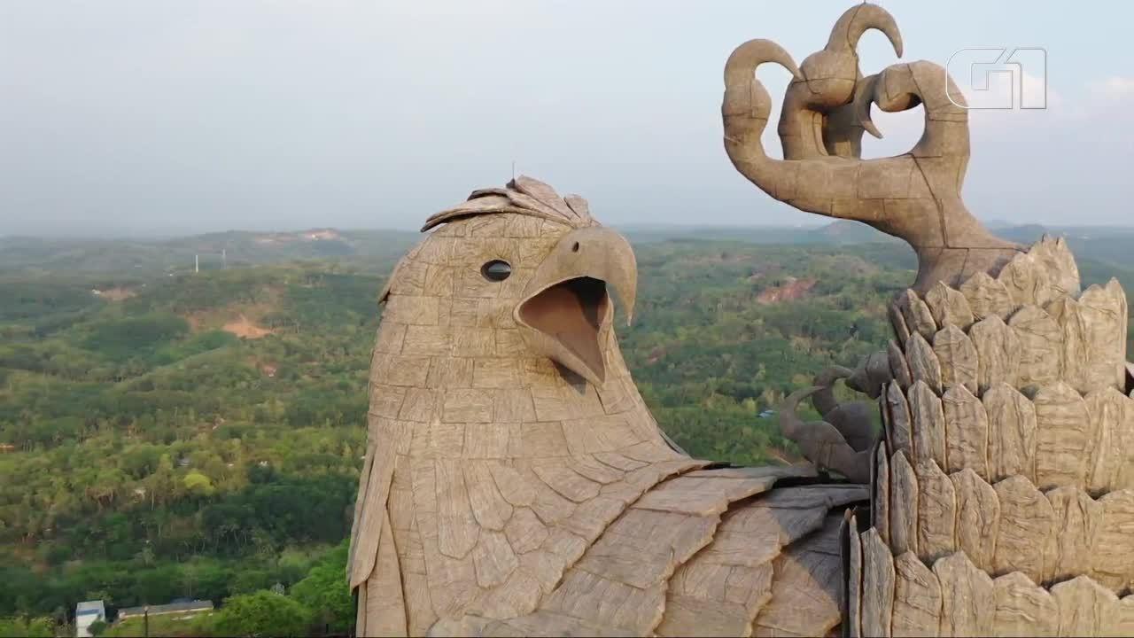 Conheça a maior estátua de pássaro do mundo
