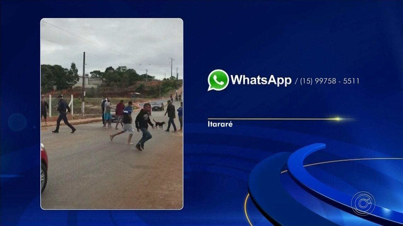 Guardas são agredidos por moradores em Itararé