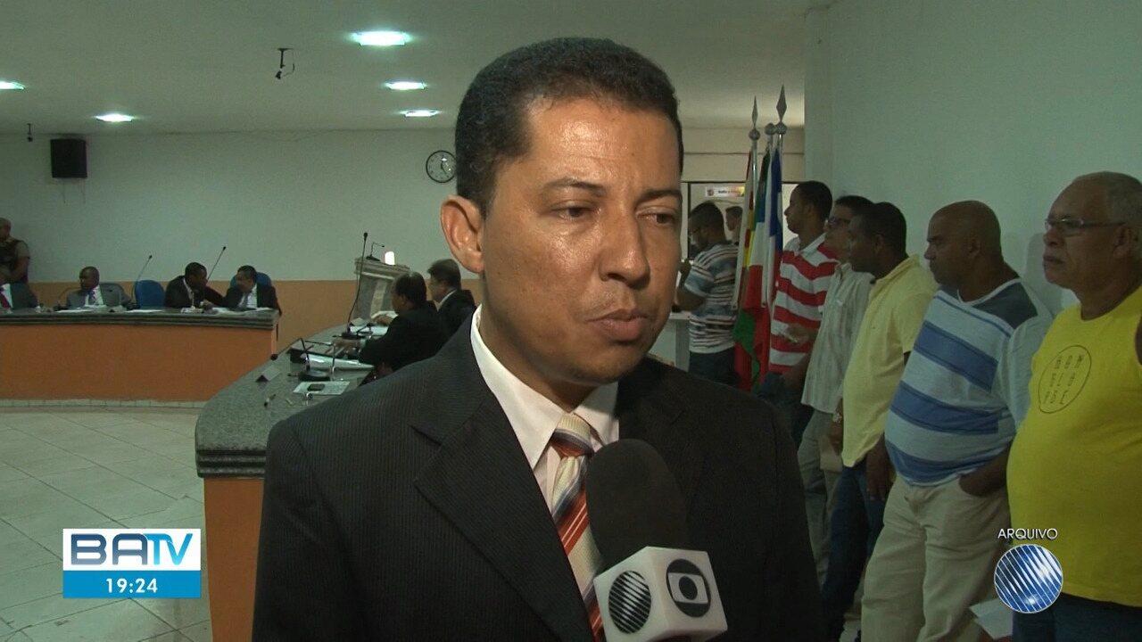 Vereador de Ilhéus suspeito de participar de esquema de corrupção se apresenta ao MP