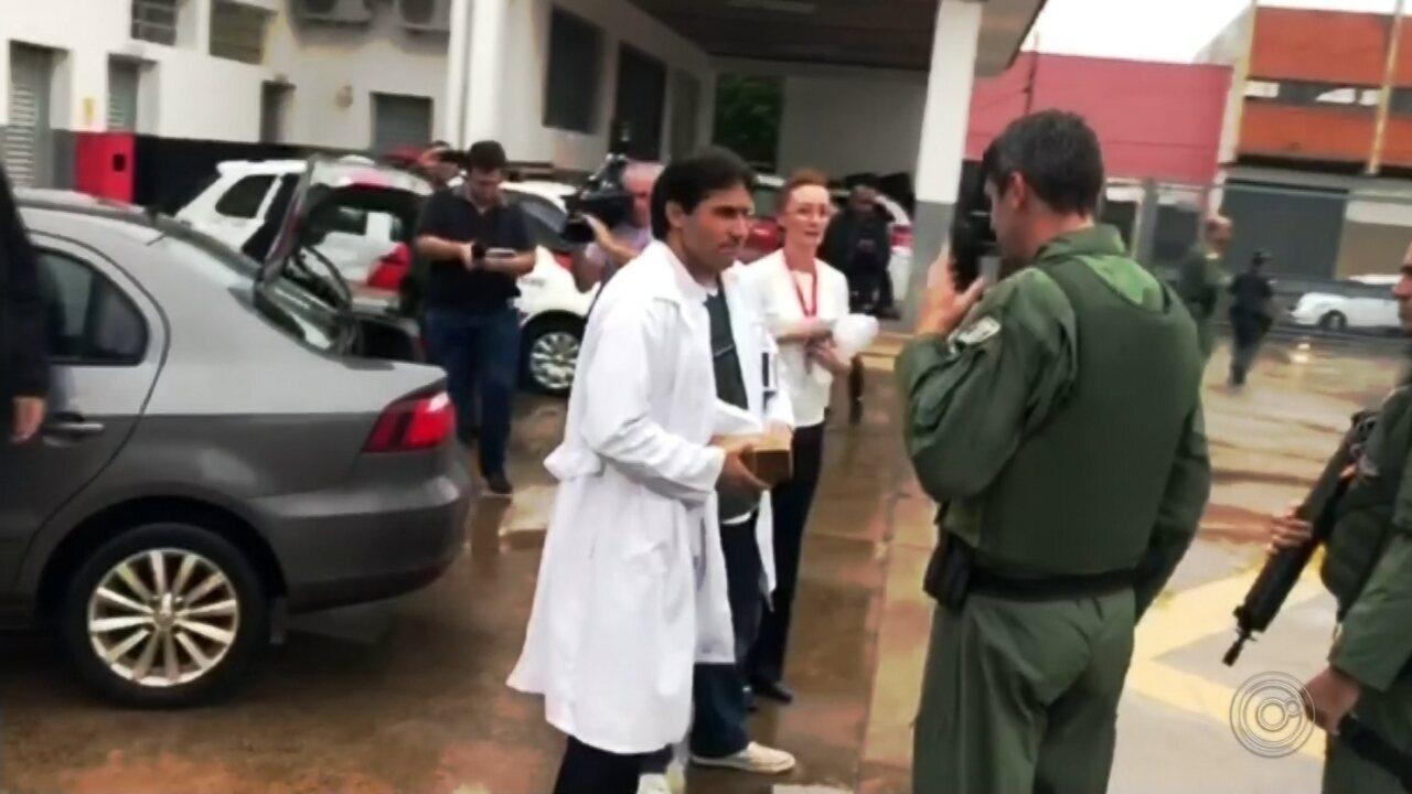 Transplante de coração em hospital de Botucatu mobiliza helicóptero Águia da PM