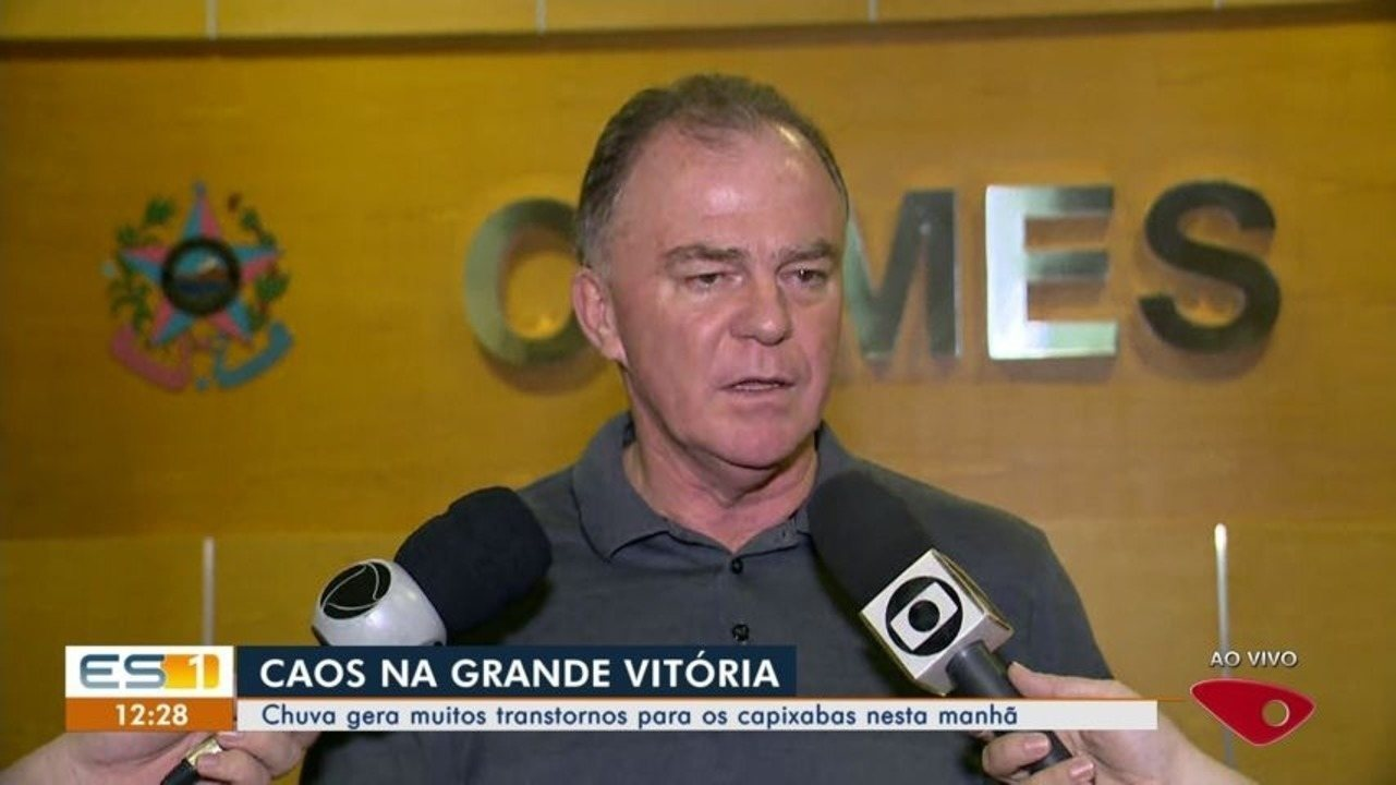 Governador do ES ressalta importância de investimento em drenagem após alagamento