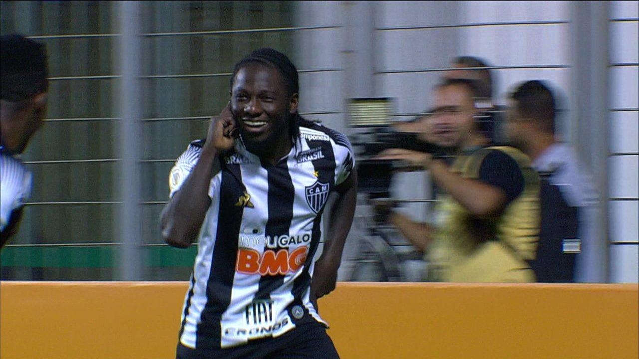 Na quinta rodada do Brasileirão, Atlético vence o Flamengo com um jogador a menos